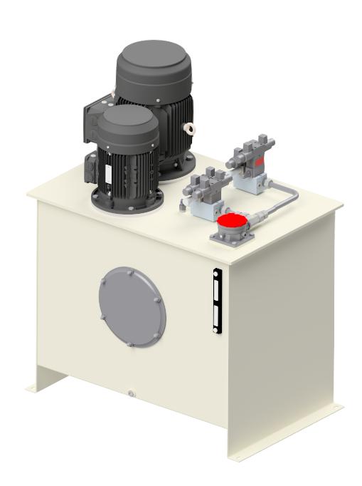Hydraulik pumpestation